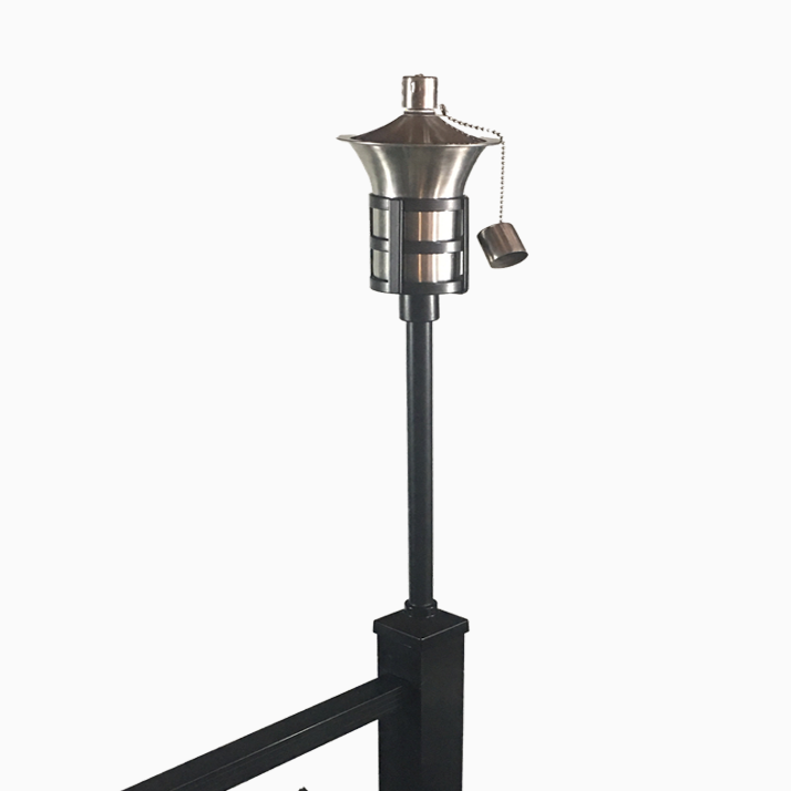 brand stainless steel lamps torch alt lamp tiki